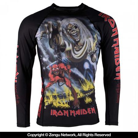 Tatami Iron Maiden Number Of The Beast Rash guard